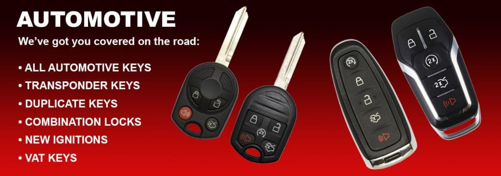 automotive car keys